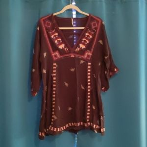 FP Embroidered Tunic